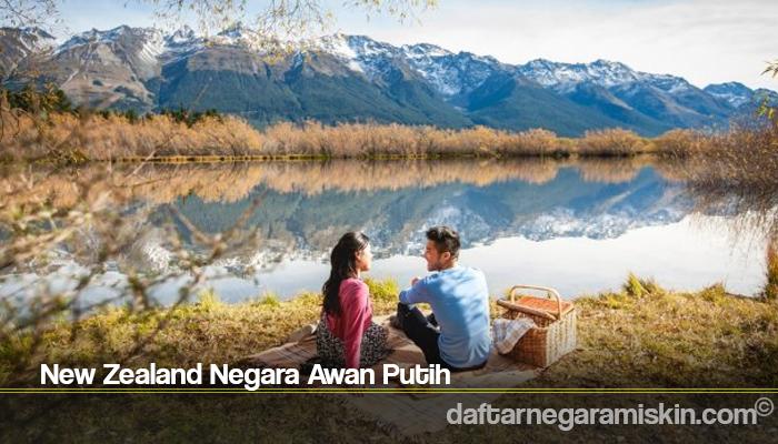 New Zealand Negara Awan Putih