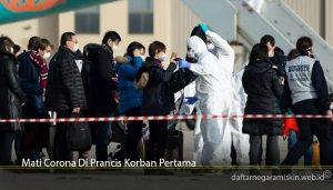 Mati Corona Di Prancis Korban Pertama