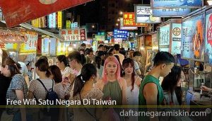 Free Wifi Satu Negara Di Taiwan