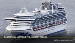 Kapal Pesiar Diamond Princess Dari Jepang