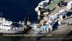 Puluhan Kapal Pesiar Tujuan Jepang Positif Corona