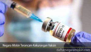 Negara Miskin Terancam Kekurangan Vaksin